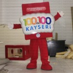 100de100 Kayseri Maskot