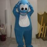 Mavi Balık Maskotu