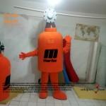 Martin Mühendislik Tüp Maskot Kostümü