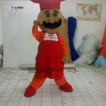 Pizza Pizza Usta Maskot Kostümü