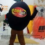 Zeytin maskot kostümü / Ezel zeytincilik