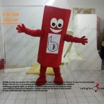Kalem Maskot kostümü / Kıbrıs