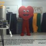 Kalp Maskotu / Uşak / Ajans Saha