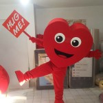 Kalp Maskotu / f2f/ Vodafone