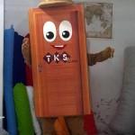 Kapı Maskot Kostümü / TKS