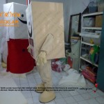 Karton Koli Maskot / Geridönüşüm Maskot