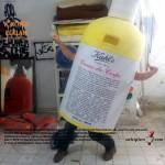 Kiehl's şişe maskot kostümü