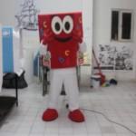 Kitap Kumbaram Maskot Kostümü / TİMAŞ