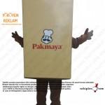 Pakmaya Maskot Kostüm