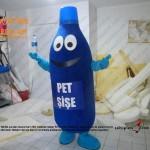 Pet şişe geri dönüşüm maskot kostümü
