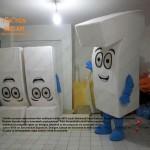 7 rakamı maskot kostümü / Volkswagen Almanya