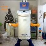 Sirona Diş Makina Maskot kostüm