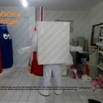 Süt kutusu maskot kostümü