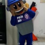 Polis Maskot Kostümü / Burdur