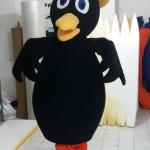 Kuzgun Maskot Kostümü / Eğitimciler Koleji