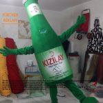 Kızılay Soda Şişesi Maskot Kotümü