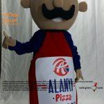 Pizza Ustası Maskot Kotümü / Alanya Pizza Danimarka