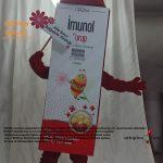 Orzax İlaç / Kutu Maskot / Bal+Çilek