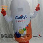 Altivty Vitamin Şişe Maskotu / Viva