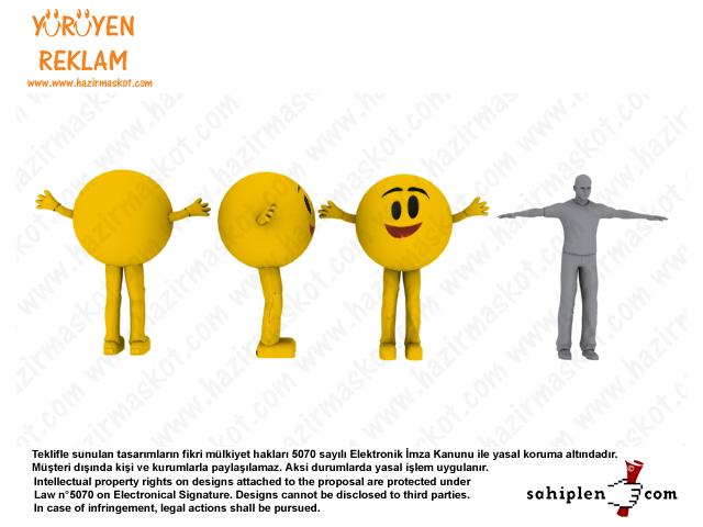 EnerjiSA Maskot Kostümü