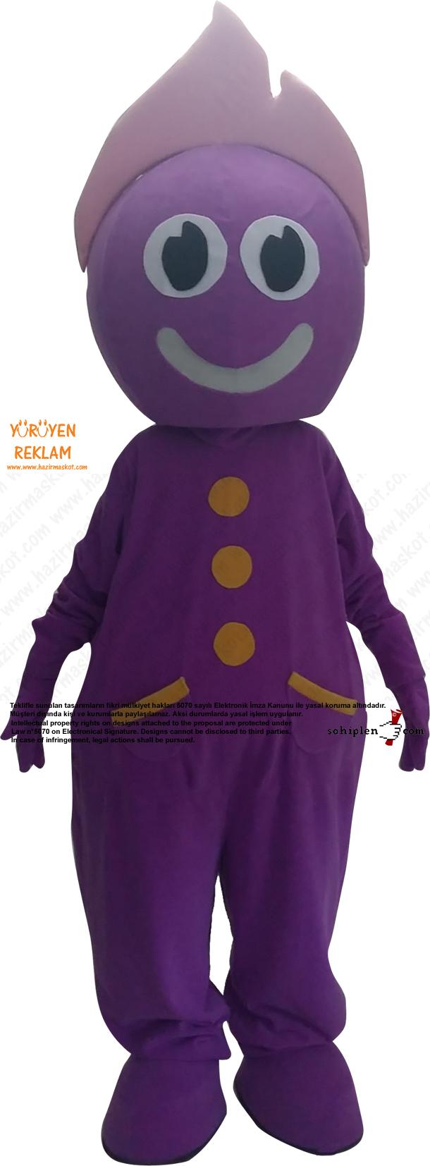 Nasheet Mascot Costume