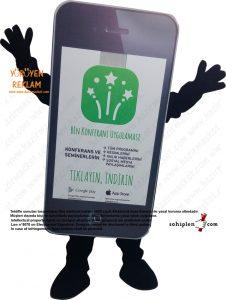 oriflame aplikasyon maskot kostümü_dekupe
